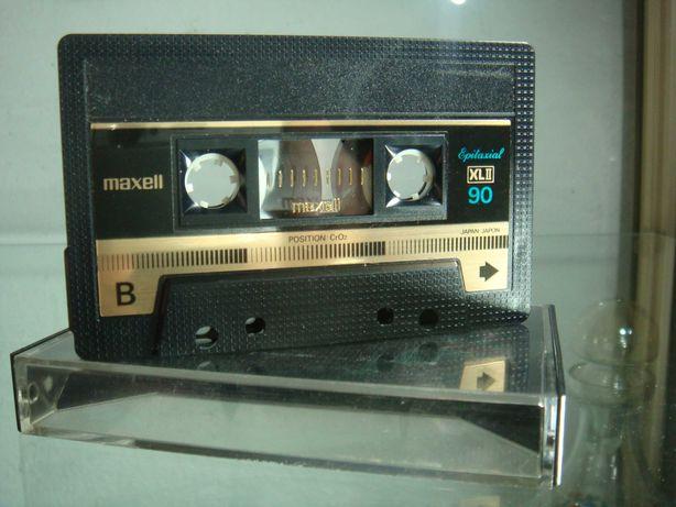 Kaseta magnetofonowa Maxell XLII 90 Epitaxial jak nowa