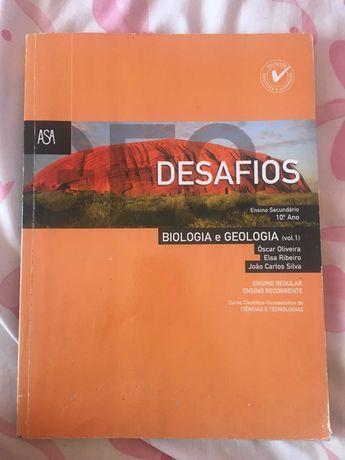 Biologia / Geologia - Desafios - 10º Ano - Usados - Impecáveis
