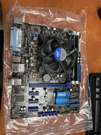 Asus P8H61-M LX, i3-3240, 4 GB RAM