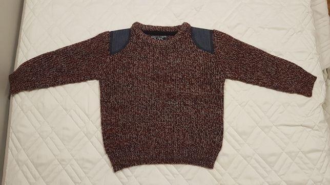 Modny sweter dziecięcy dla chłopca. Rozmiar 98. Stan bardzo dobry