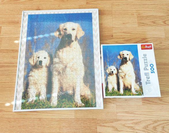 TREFL puzzle 500 pieski