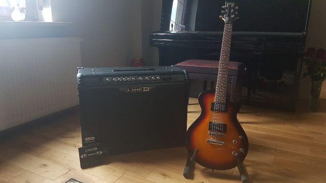 Gitara elektryczna Ibanez Gart i wzmacniacz Line 6 Spider III 150W
