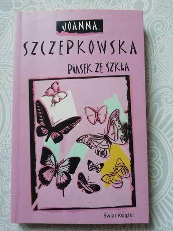 Piasek ze szkła Joanna Szczepkowska