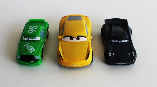 Carrinhos miniatura Hicks, Ramirez e Storm da Cars Disney Pixars