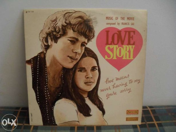 Love Story - music of the movie - lp vinil