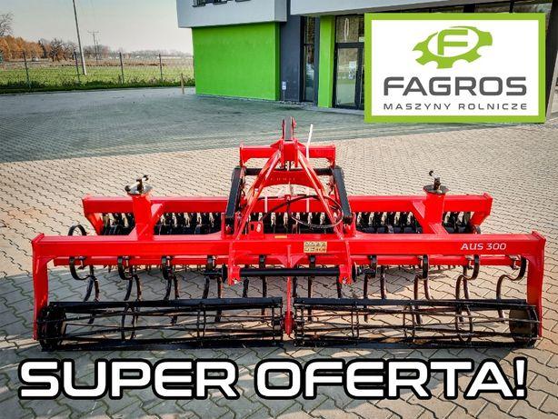 *FAGROS* Nowy agregat uprawowo-siewny uprawowy HYDROPACK Talerzowy