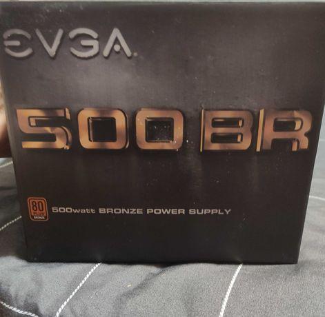 Продам блок питания EVGA 500 BR, 80+ BRONZE 500W