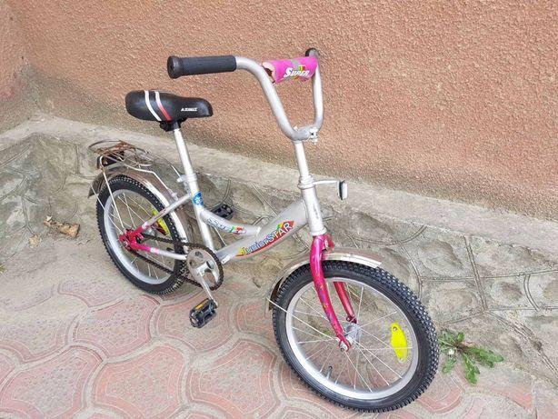 """Azimut 16"""" фирменный детский велосипед"""