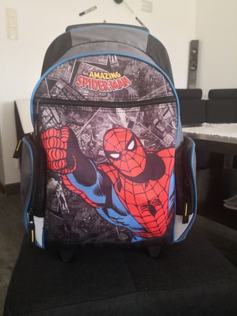 Tornister Spider-Man Marvel na kółkach klasa 1-4