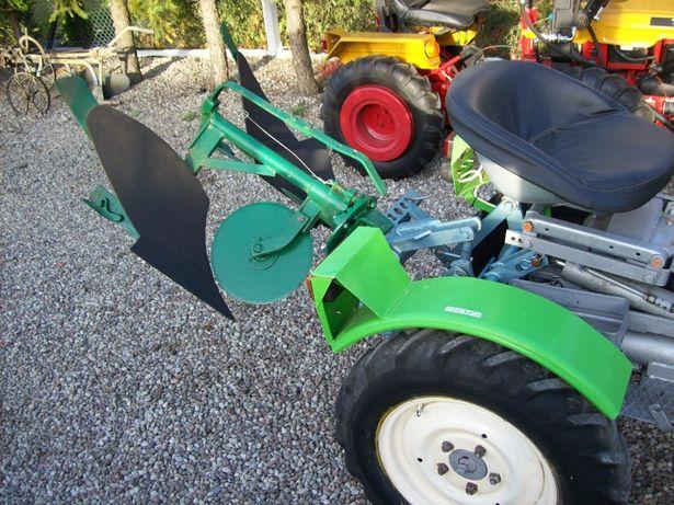 Pług OGRODNICZY OBROTOWY oryginalny do traktorek ogrodniczy kubota tz4