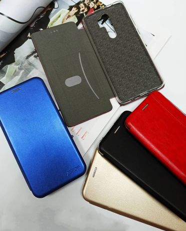 Чехол книжка Xiaomi Redmi 9 9a 9c 8 8a 7a 6 6a Note 4x 5 6 Pro 7 Mi a1