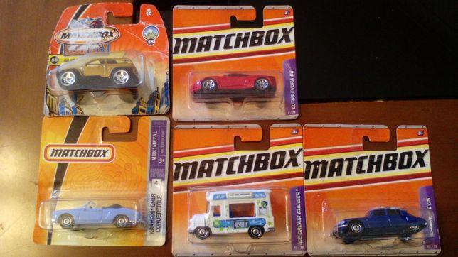 Miniaturas Matchbox Volkswagen Karmann Ghia/Lotus/Citroen Ds/C.Gelados
