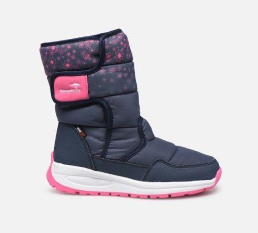 KangaROOS K-Fluff buty kozaki buciki śniegowce botki rozm. 33 NOWE