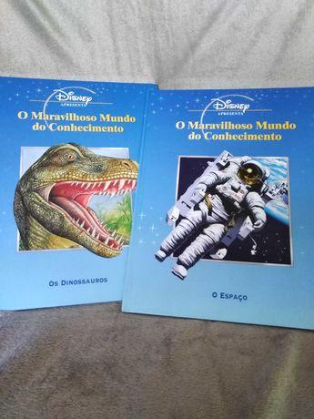 O Maravilhoso Mundo do Conhecimento - Dinossauros e Espaço - Disney