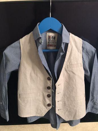Комплект Next,рубашка и жилет некст 4 года рост 104