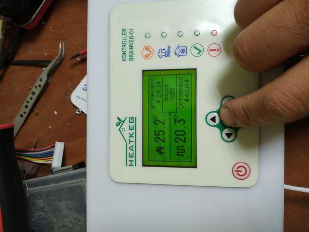 Контроллер теплового насоса Brainkeg Wi-fi. Терморегулятор