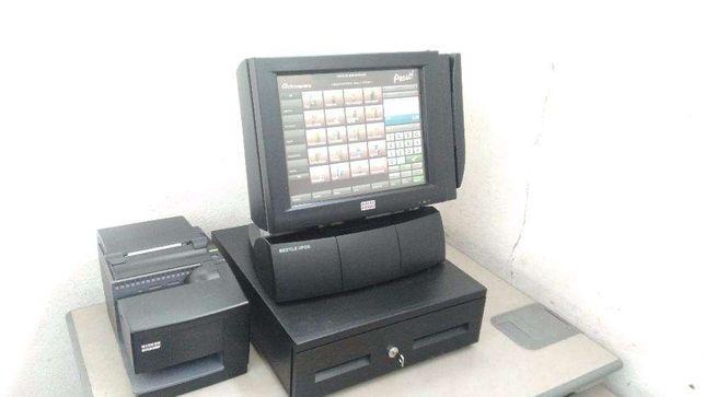 POS / Caixa registadora touch-screen com software certificado