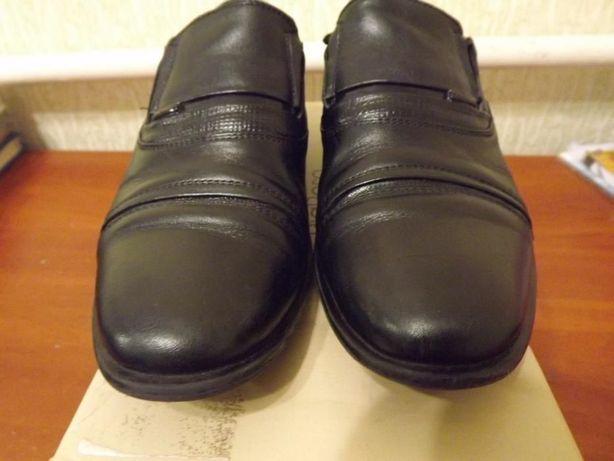 Туфли кожаные детские 37 размер