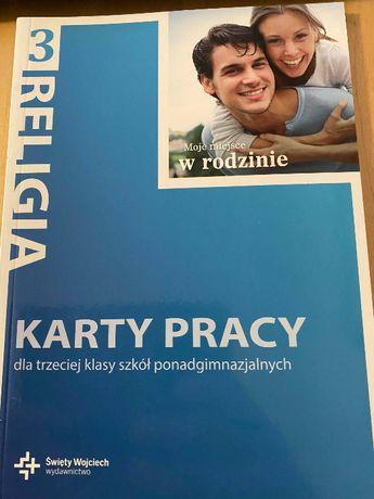 """Karty pracy wydawnictwa św. Wojciecha: """"Moje miejsce w rodzinie"""""""