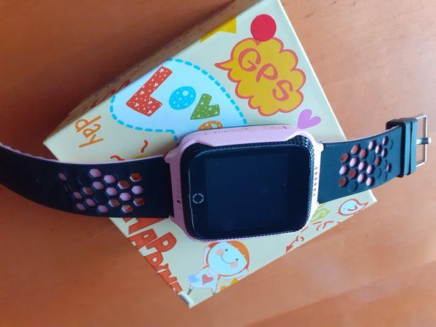 Nowy Smartwach dla dziewczynki/Ubranka 110cm dla dziewczynki /Zabawki