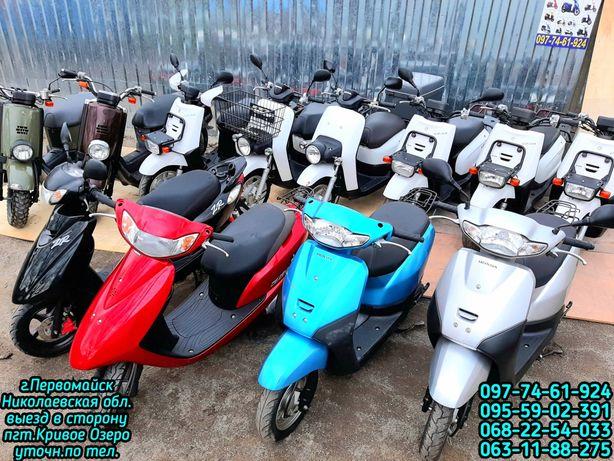 скутер ямаха39 mint СКЛАДмото без пробега по Украине:Jog36 dio62 gear