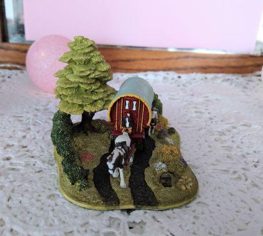 Lilliput Lane Western kolekcjonerska figurka model miniatura vintage