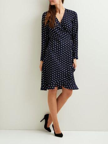 wyprzedaż po likwidacji sklepu!!!sukienka Vila rozmiar M w groszki
