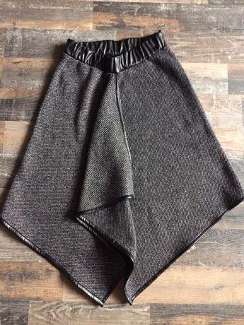 Ассиметричная  теплая юбка