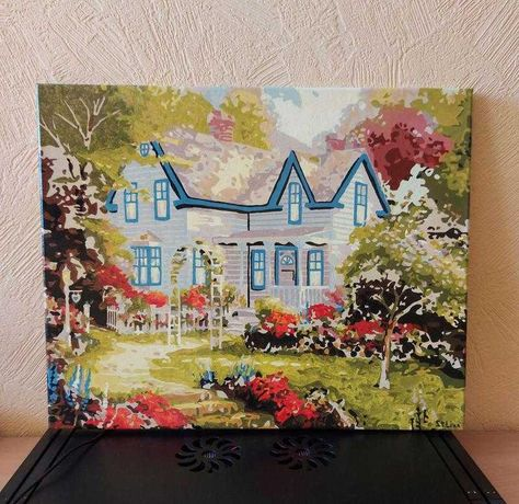 Картина На Холсте: Дом Мечты.
