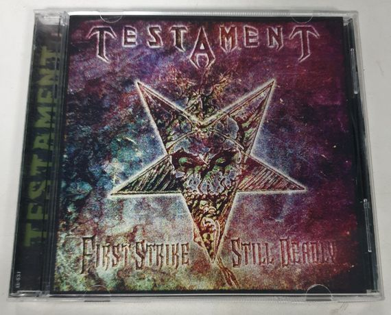 "Продам диск TESTAMENT ""First Strike Still Deadly"""