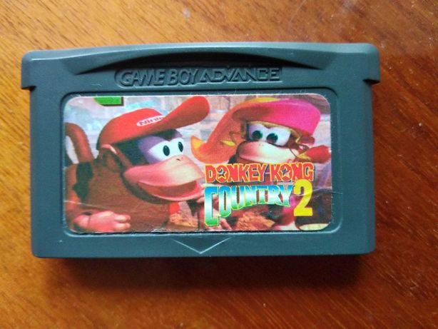 Donkey Kong Country 2 GBA GameBoy Advance Gra