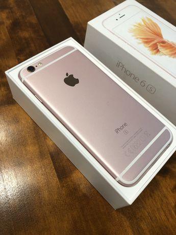 iPhone 6S GOLD ROSE 32GB Super stan! Nowa bateria!