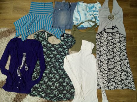 Продам пакет вещей,майку,кофту,юбку,платье,сарафан