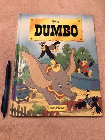 "Livro da Disney ""Dumbo"""