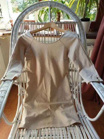 Beżowa sukienka rozmiar M