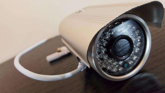 Camera AHD HD 720p cctv video vigilância camara alta definição cabo