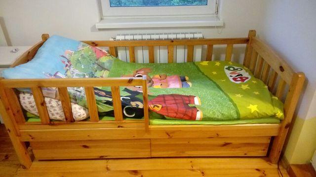 Łóżko drewniane 187x85