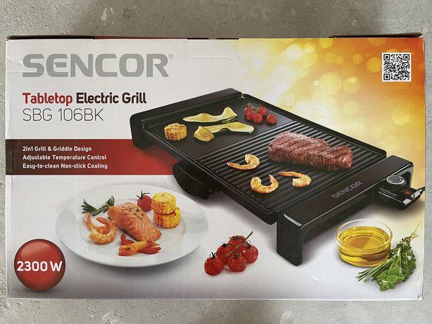Gril stołowy elektryczny Sencor SBG 106 BK