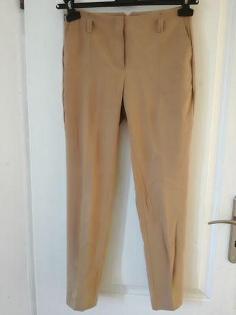 Spodnie klasyczne bezowe