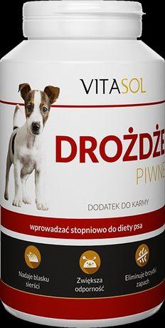 Drożdże piwne-suplement diety dla psów.250g