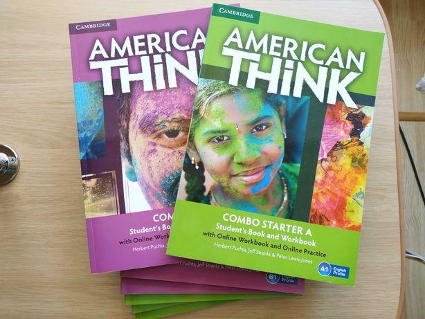 Воркбуки изучения английского American think Interchange by Cambridge
