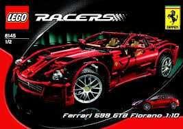 Lego Technic Racers 8145 Ferrari 599 GTB Fiorano