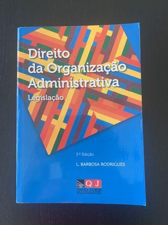 Direito da Organização Administrativa - Barbosa Rodrigues