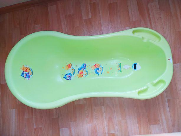 Ванночка детская + матрасик для купания