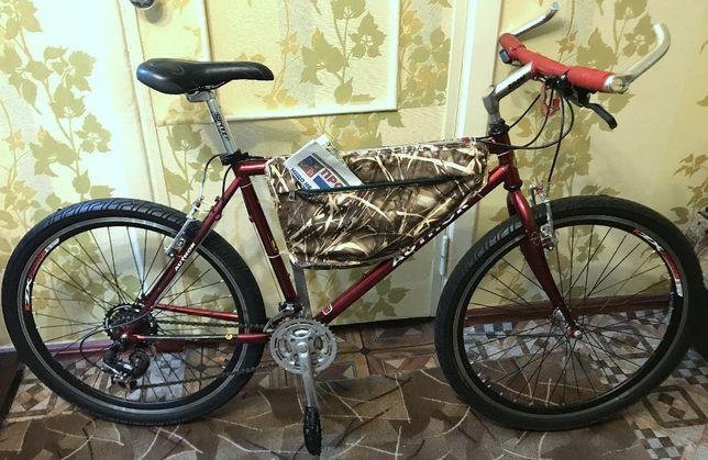 Author CrMo велосипед 26 колеса,компоненты shimano -как новый.