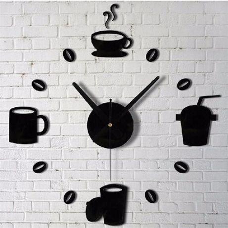 Relógio de parede 3D ( P. Alm. ) autocolante