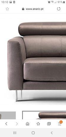 Sofá Anaric com chaise longue grande