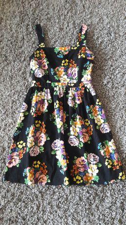 Sukienka Atmosphera Kwiaty roz 36