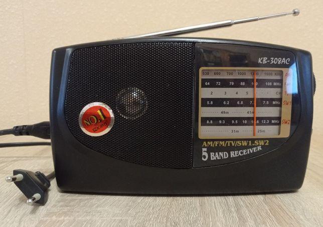 Радіоприймач радиоприемник КІРО КВ-308АС в гарному стані, все працює