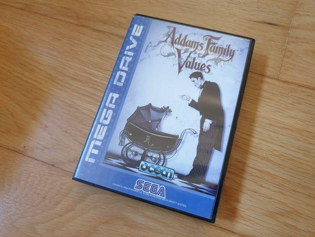 Jogo mega drive Adams family Values TOP (RARO)